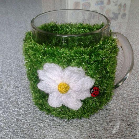 Кружки и чашки ручной работы. Ярмарка Мастеров - ручная работа. Купить Чехол для чашки, чашка, кружка чайная в чехле. Handmade.