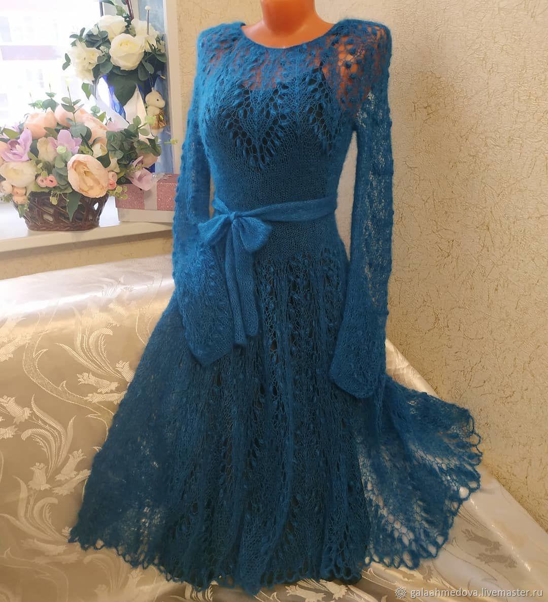 dress 'openwork dream' handmade, Dresses, Dmitrov,  Фото №1