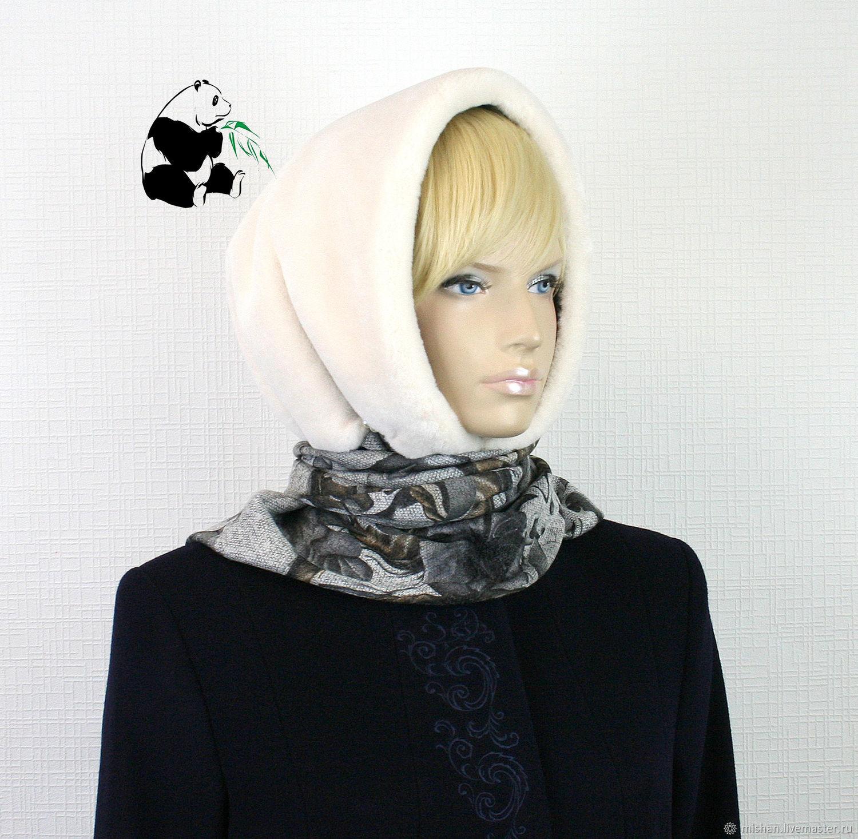 меховые платки для женщин