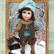 Канцелярские товары ручной работы. Ярмарка Мастеров - ручная работа Блокноты с изображением моих  кукол. Handmade.
