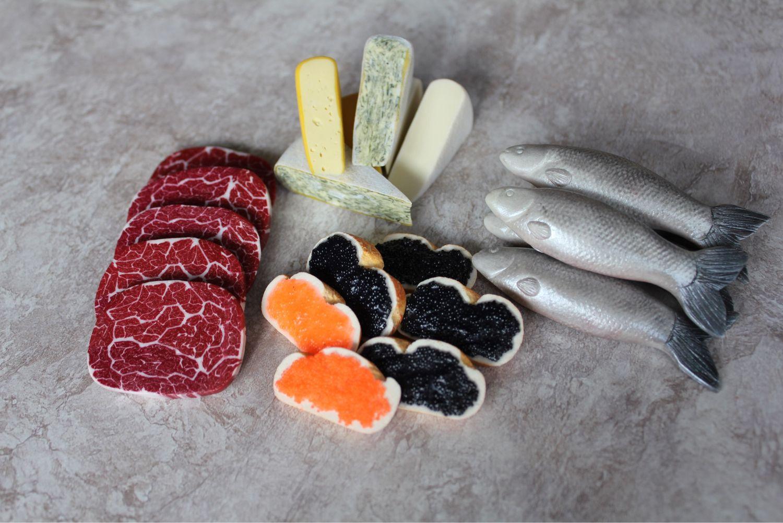 Еда из полимерной глины, Кукольная еда, Москва,  Фото №1