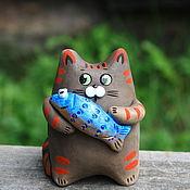 Куклы и игрушки ручной работы. Ярмарка Мастеров - ручная работа Коты. Handmade.