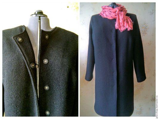 """Верхняя одежда ручной работы. Ярмарка Мастеров - ручная работа. Купить Женское демисезонное пальто """" Ничего лишнего"""".. Handmade."""