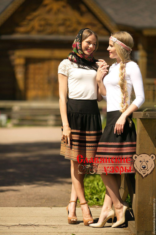 bdf4369ab2 Skirts handmade livemaster handmade buy skirt with russian ornaments vesta  red jpg 1000x1500 Slavic skirt