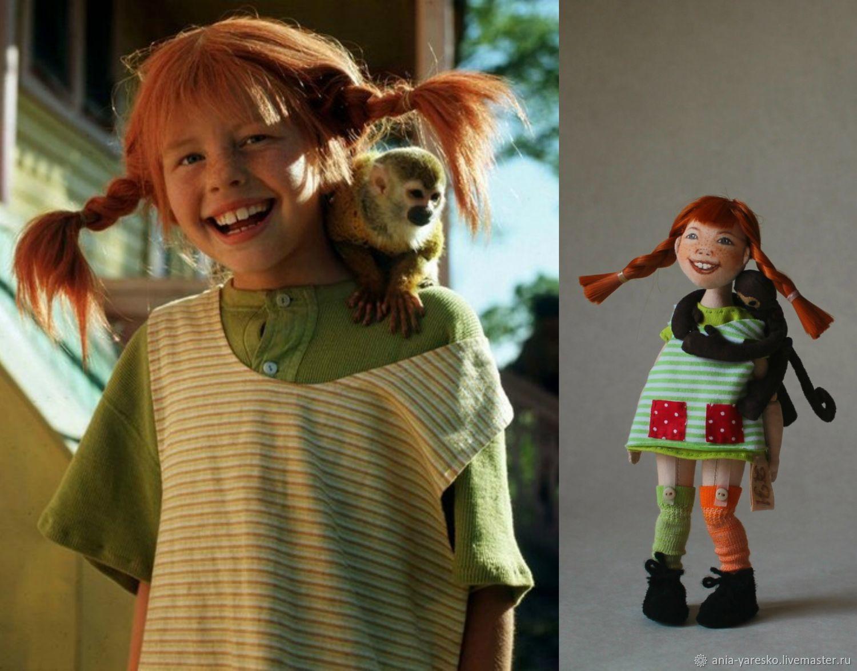 Кукла Пеппи, Куклы, Алексеевка, Фото №1