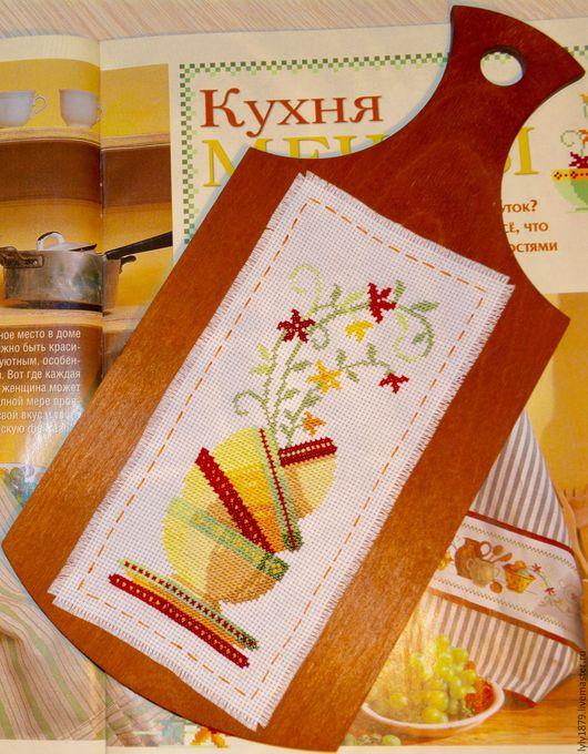 Кухня ручной работы. Ярмарка Мастеров - ручная работа. Купить Панно для кухни Лето. Handmade. Оранжевый, коричневый, чайный домик