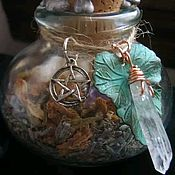 Фен-шуй и эзотерика handmade. Livemaster - original item Witch Bottle Pet Protection. Handmade.