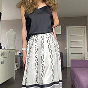 Одежда handmade. Livemaster - original item Costumes: Silk top skirt. Handmade.