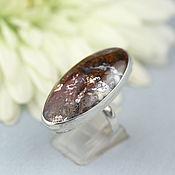 Украшения handmade. Livemaster - original item Ring with moss agate. Silver.. Handmade.