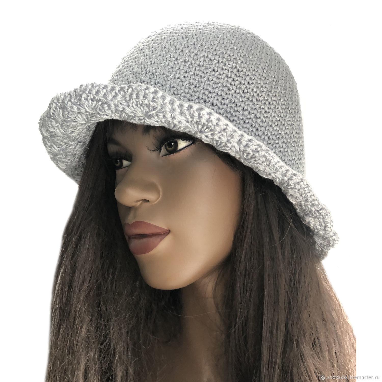 Women's hat silver fog, Hats1, Moscow,  Фото №1