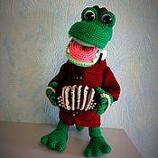 Куклы и игрушки ручной работы. Ярмарка Мастеров - ручная работа Гена. Крокодил Гена.. Handmade.