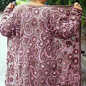 """Одежда ручной работы. Ярмарка Мастеров - ручная работа Пальто """"Виталина"""". Handmade."""