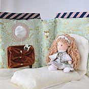 Вальдорфские куклы и звери ручной работы. Ярмарка Мастеров - ручная работа Куколка и ее спальня. Handmade.
