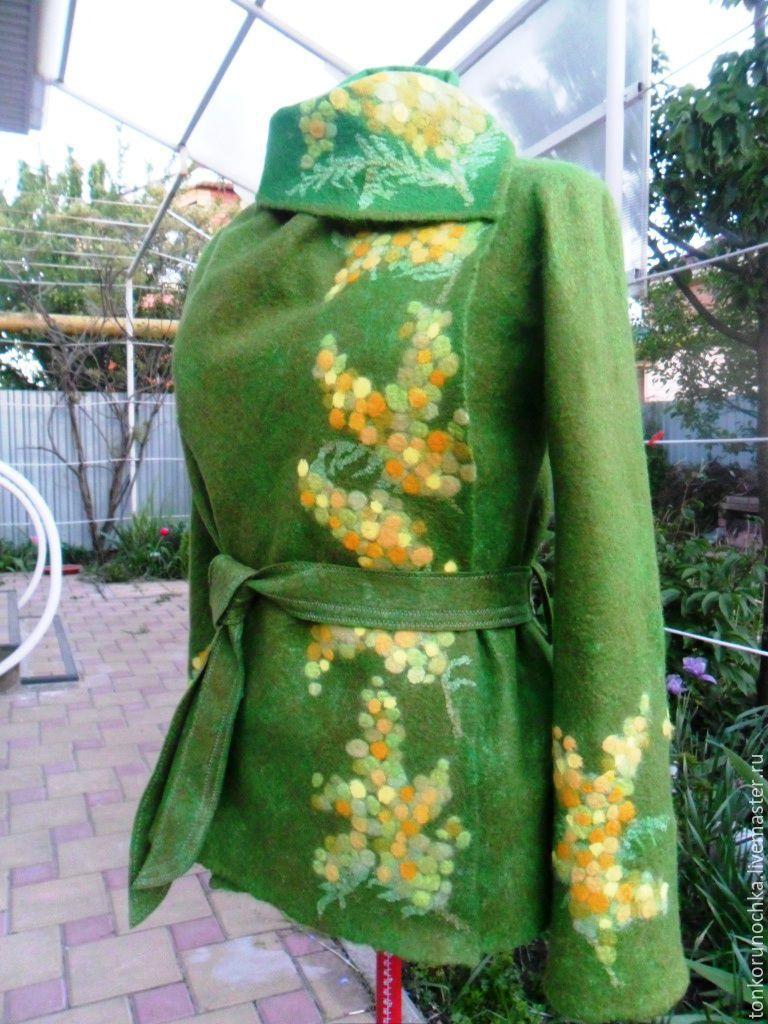 felted jacket 'spring awakening', Suit Jackets, Yeisk,  Фото №1