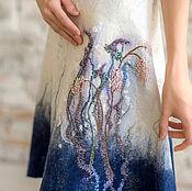 """Одежда ручной работы. Ярмарка Мастеров - ручная работа Юбка """" в зимнем саду"""". Handmade."""
