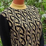 Одежда handmade. Livemaster - original item Pullover jacquard.. Handmade.