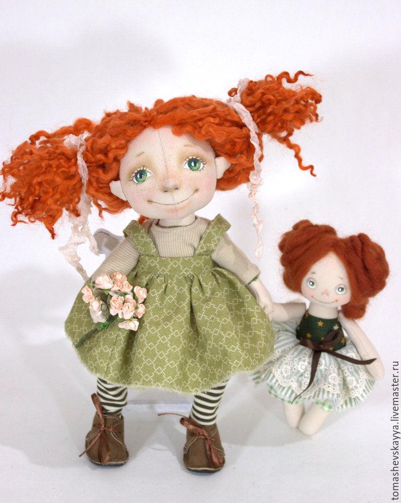 Мастер-класс куклы из ткани