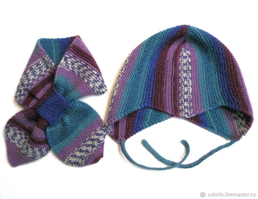 Hats and scarves handmade. Livemaster - handmade. Buy Copy of Hand knitted  baby helmet ... 40065baebcf