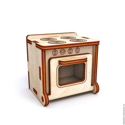 Куклы и игрушки ручной работы. Ярмарка Мастеров - ручная работа. Купить КНМ-0000016 Кухонная плита. Handmade. Заготовки для творчества