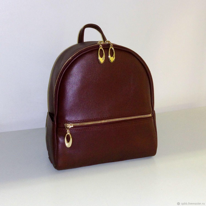 Backpack leather city, Backpacks, St. Petersburg,  Фото №1