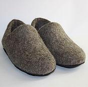 Обувь ручной работы. Ярмарка Мастеров - ручная работа Тапочки валяные - Домашние. Handmade.