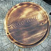 Посуда ручной работы. Ярмарка Мастеров - ручная работа блюдо из дерева. Handmade.