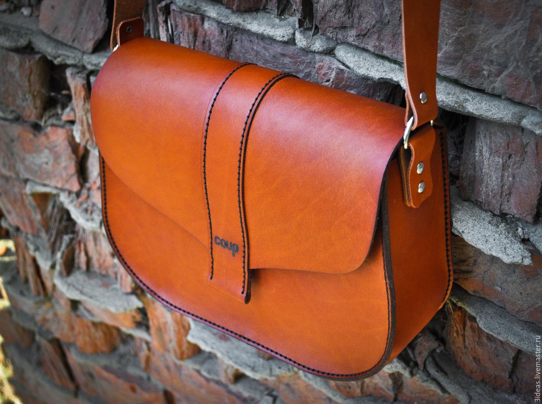 Мастер-класс: шьем кожаную сумку Шкатулка