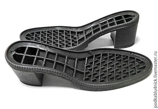 Другие виды рукоделия ручной работы. Ярмарка Мастеров - ручная работа. Купить Подошва для обуви Тоня. Handmade. Черный