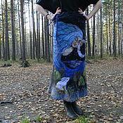 """Одежда ручной работы. Ярмарка Мастеров - ручная работа Юбка """"Волшебная ночь"""". Handmade."""