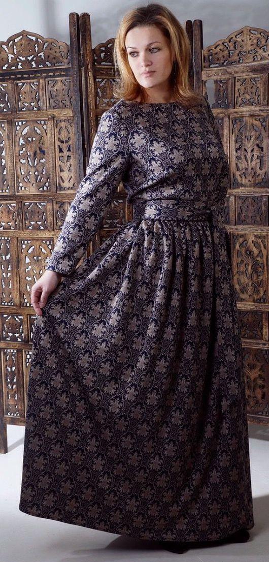 Платья ручной работы. Ярмарка Мастеров - ручная работа. Купить платье `Восток`. Handmade. Платья. Платье тёплое.