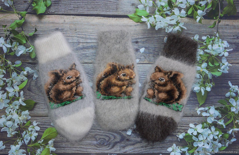 Mittens down 'Squirrel' women, Mittens, Urjupinsk,  Фото №1