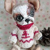 Куклы и игрушки ручной работы. Ярмарка Мастеров - ручная работа Французский бульдог Джерик. Handmade.