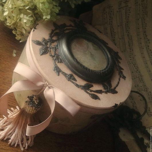 """Шкатулки ручной работы. Ярмарка Мастеров - ручная работа. Купить """"Tessa"""" большая шкатулка.. Handmade. Комбинированный, для хранения украшений, медальон"""