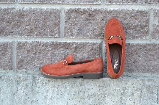 Обувь ручной работы. Ярмарка Мастеров - ручная работа. Купить Туфли женские с фурнитурой. Handmade. Рыжий, антик