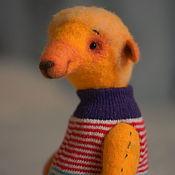 Куклы и игрушки ручной работы. Ярмарка Мастеров - ручная работа Осенний солнечный мишка. Handmade.