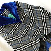 Одежда ручной работы. Ярмарка Мастеров - ручная работа Пальто кашемировое в клетку. Handmade.