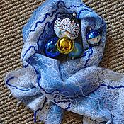 Аксессуары handmade. Livemaster - original item Handmade wool scarf. Handmade.