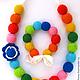 Слингобусы Радуга с браслетом