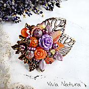 """Украшения handmade. Livemaster - original item Brooch """"Autumn in Provence"""". Handmade."""