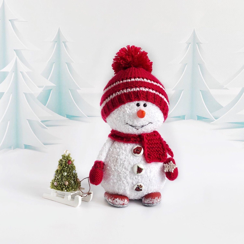 Снеговик, Мягкие игрушки, Москва,  Фото №1
