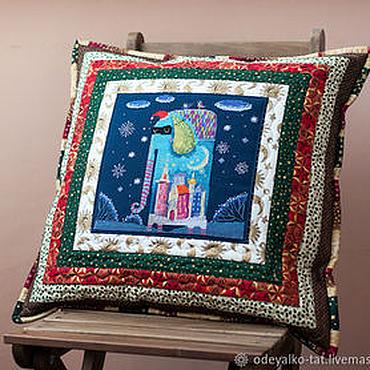 Для дома и интерьера ручной работы. Ярмарка Мастеров - ручная работа Подушка декоративная, интерьерная. Handmade.