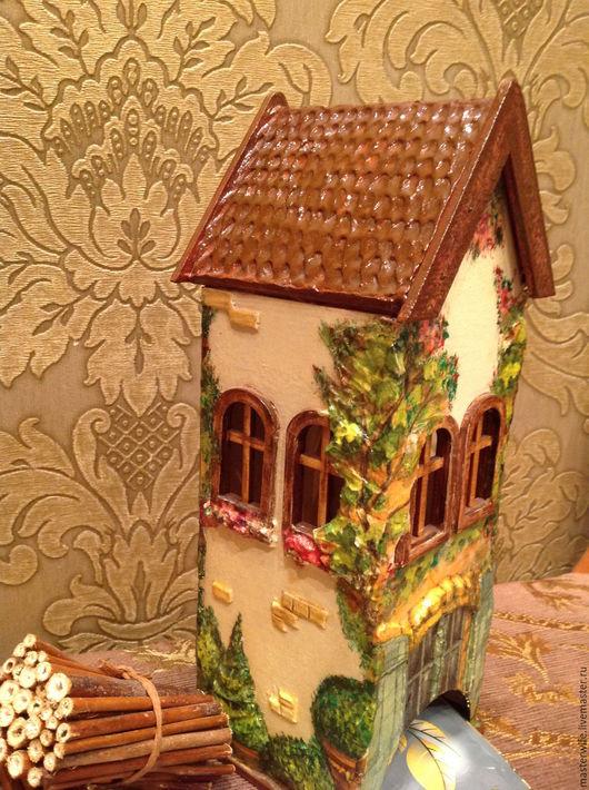 Кухня ручной работы. Ярмарка Мастеров - ручная работа. Купить Чайный домик. Handmade. Комбинированный, чайный домик, жене