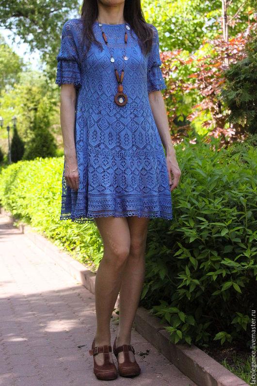 Вязание ручной работы. Ярмарка Мастеров - ручная работа. Купить Blue Karin инструкция (мастер-класс по вязанию). Handmade. pattern