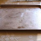 Винтаж handmade. Livemaster - original item Simple in appearance, but very beautiful old tray. Germany. Handmade.