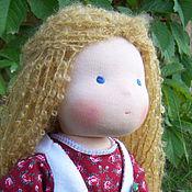 Куклы и игрушки ручной работы. Ярмарка Мастеров - ручная работа Варенька, вальдорфская кукла 36 см.. Handmade.