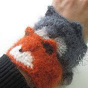 Украшения ручной работы. Ярмарка Мастеров - ручная работа Пушистые зверски милые браслеты. Handmade.