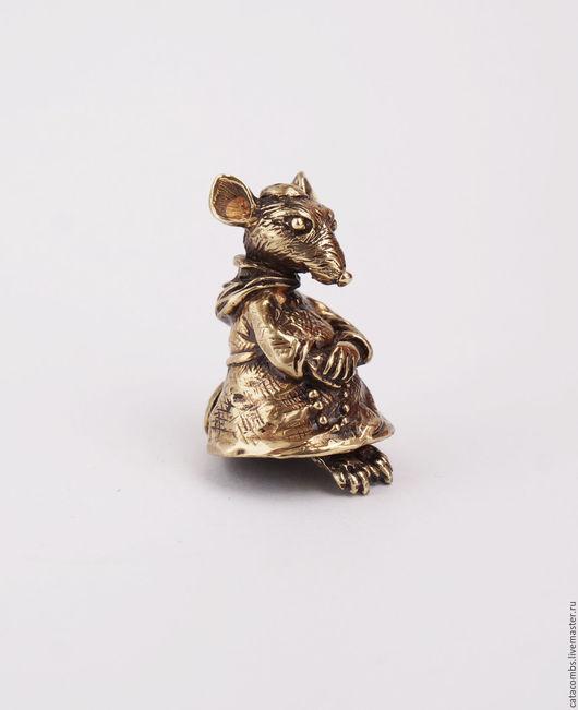 """Колокольчики ручной работы. Ярмарка Мастеров - ручная работа. Купить Колокольчик """"Мышь-монах"""". Handmade. Колокольчик, колокольчики"""