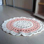 Для дома и интерьера ручной работы. Ярмарка Мастеров - ручная работа Коврик прикроватный. Handmade.