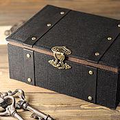 Сувениры и подарки ручной работы. Ярмарка Мастеров - ручная работа Подарочная коробка. Handmade.