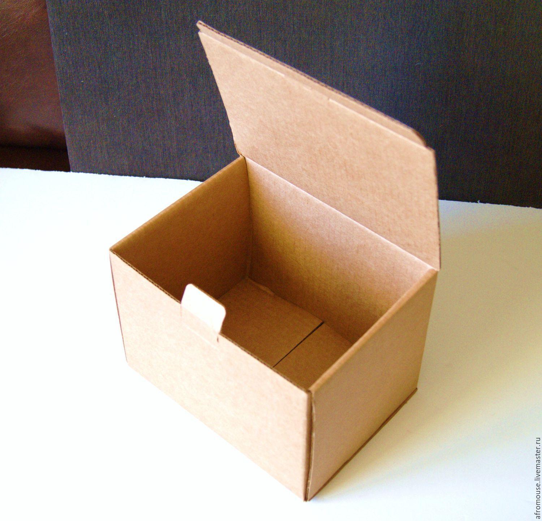 Простейшая коробка из картона своими руками фото 252